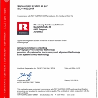 ISO 19600 CM Compliance Management Rhomberg Rail Consult GmbH